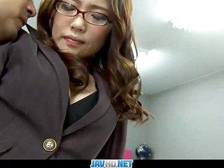 Subtitles - Boss fucked say no to japanese gossip columnist Ibuki