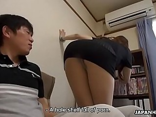 Creampie for Nagisa who can suck a close-fisted hard cock