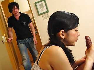 Emiko Koike in Emiko Koike is fucking her step-son and his best friend - AviDolz