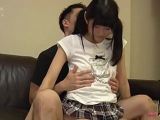 Young Asian slim body creampied in the settee [Japteenx.com]